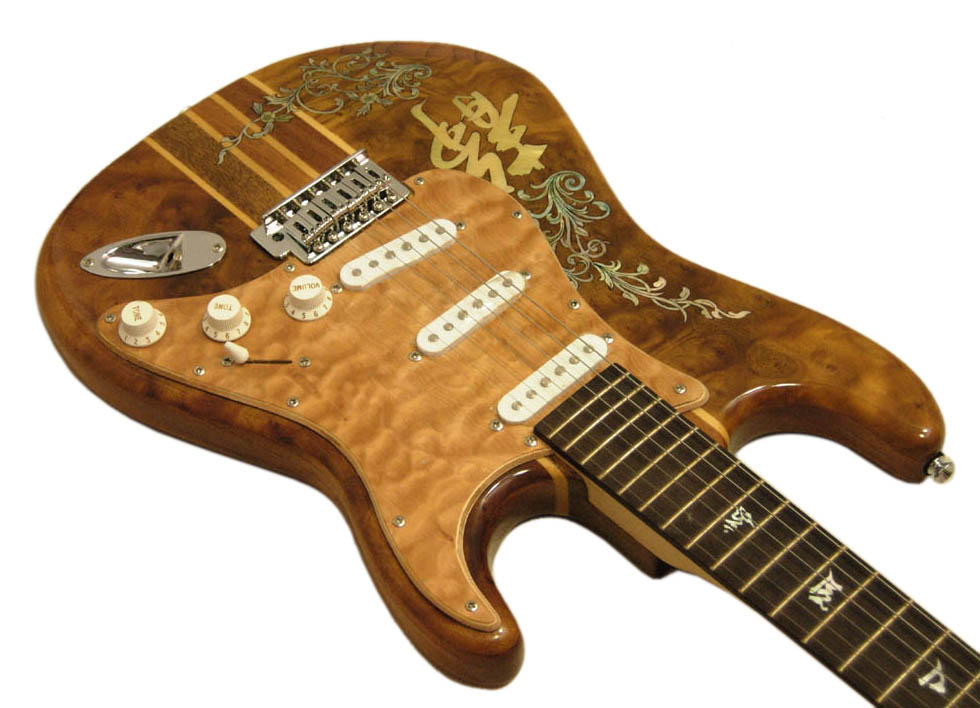 Handmade One-Of-A-Kind Guitar - 108R