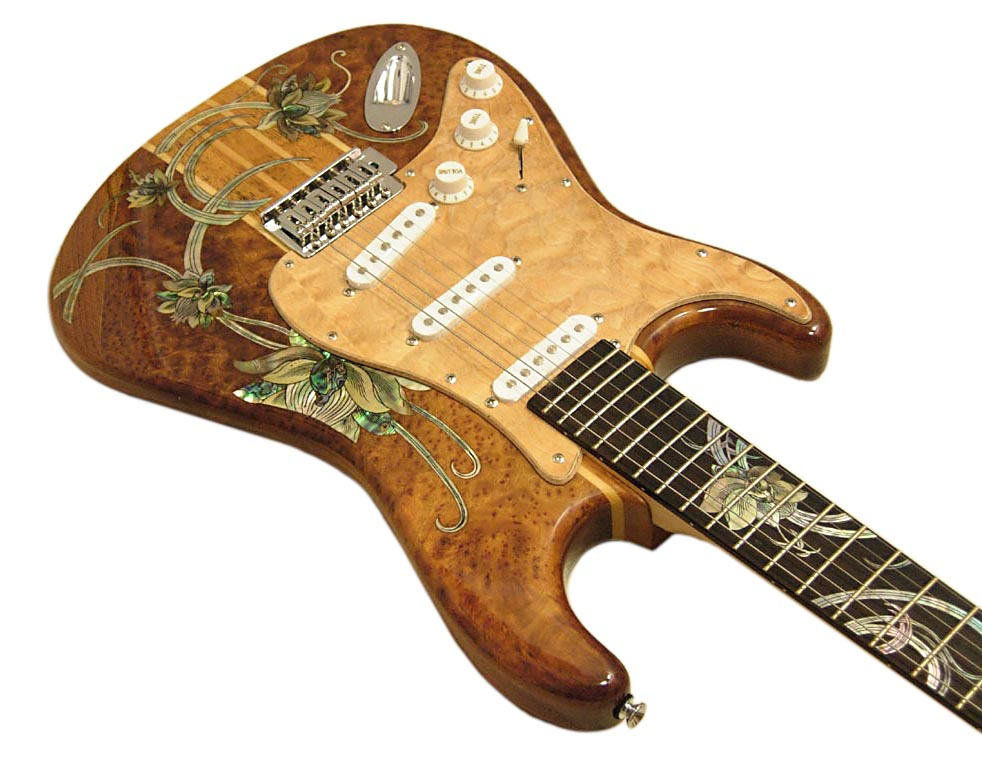 Handmade One-Of-A-Kind Guitar - 114R