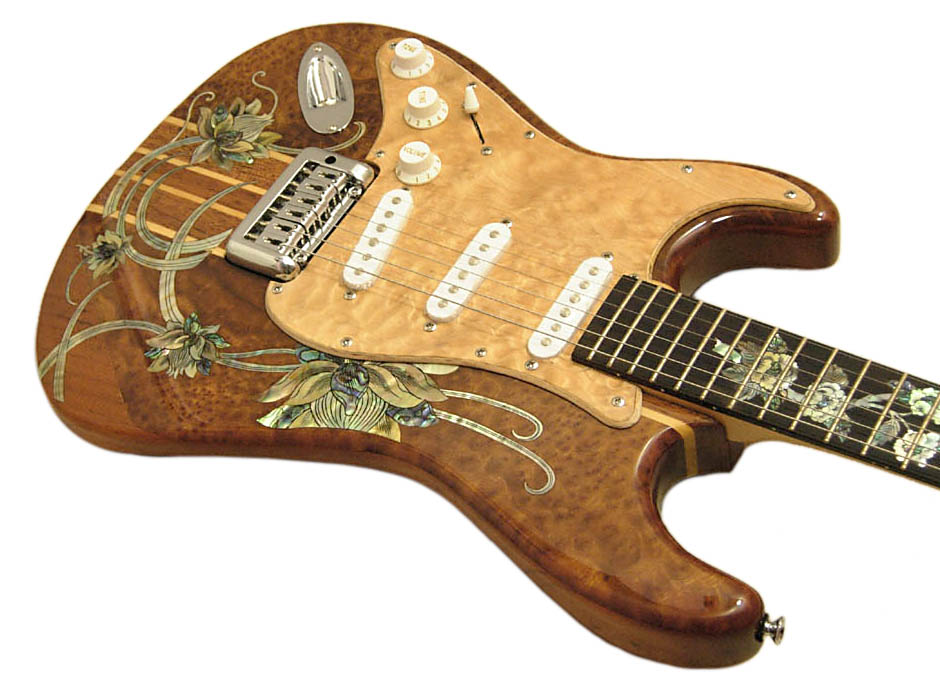 Handmade One-Of-A-Kind Guitar - 120R