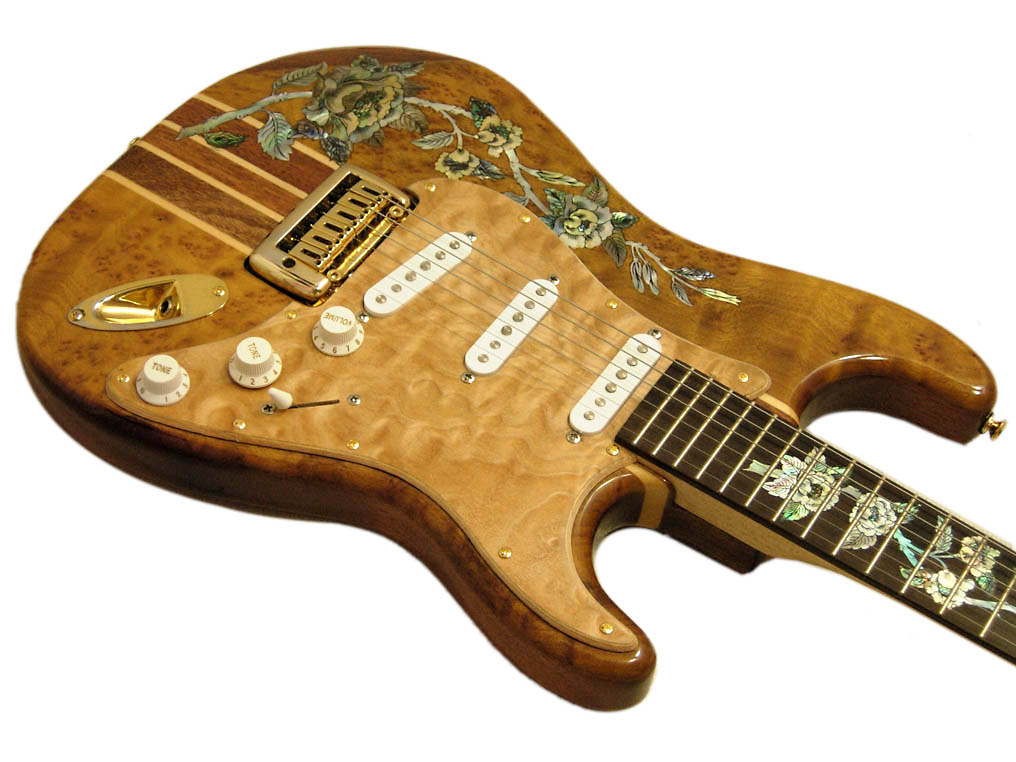 Handmade One-Of-A-Kind Guitar - 131R