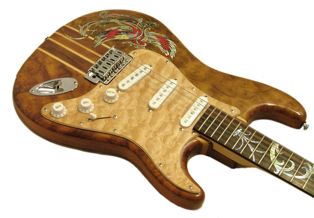 Handmade One-Of-A-Kind Guitar - 132R