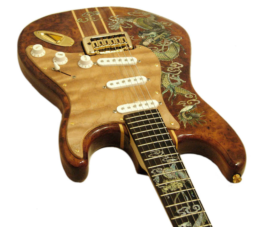 Handmade One-Of-A-Kind Guitar - 135R