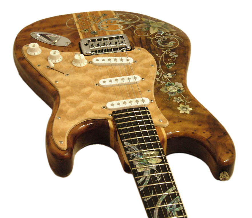Handmade One-Of-A-Kind Guitar - 141R
