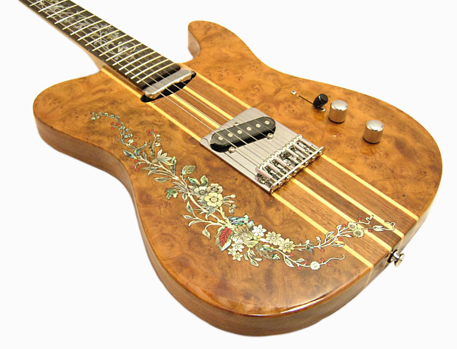 Handmade One-Of-A-Kind Guitar - 31R