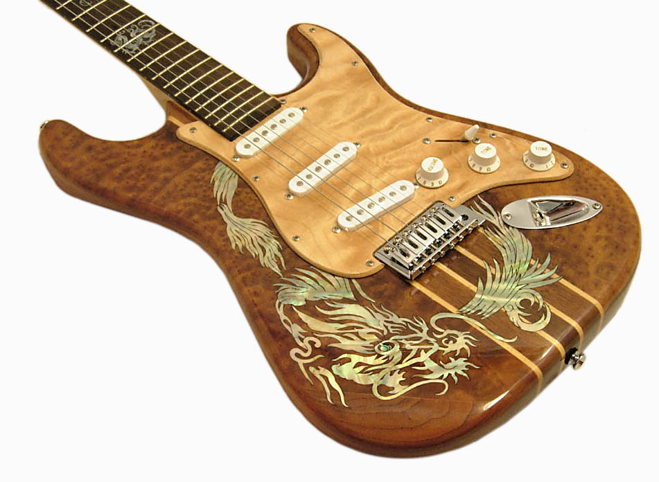 Handmade One-Of-A-Kind Guitars - Lueez Guitar