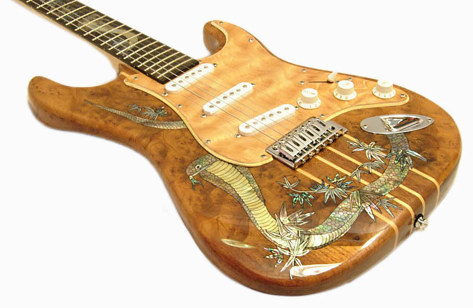 Handmade One-Of-A-Kind Guitar - 84R