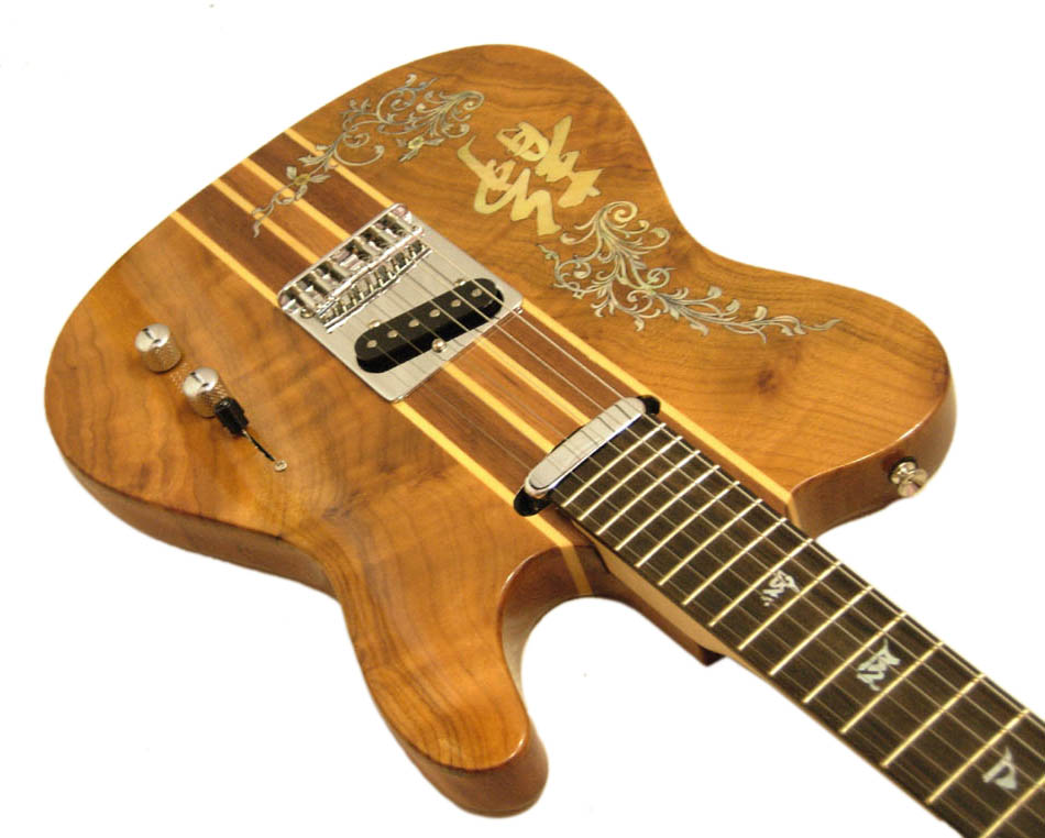 Handmade One-Of-A-Kind Guitar - 92R