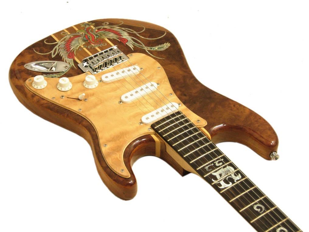 Handmade One-Of-A-Kind Guitar - 94R