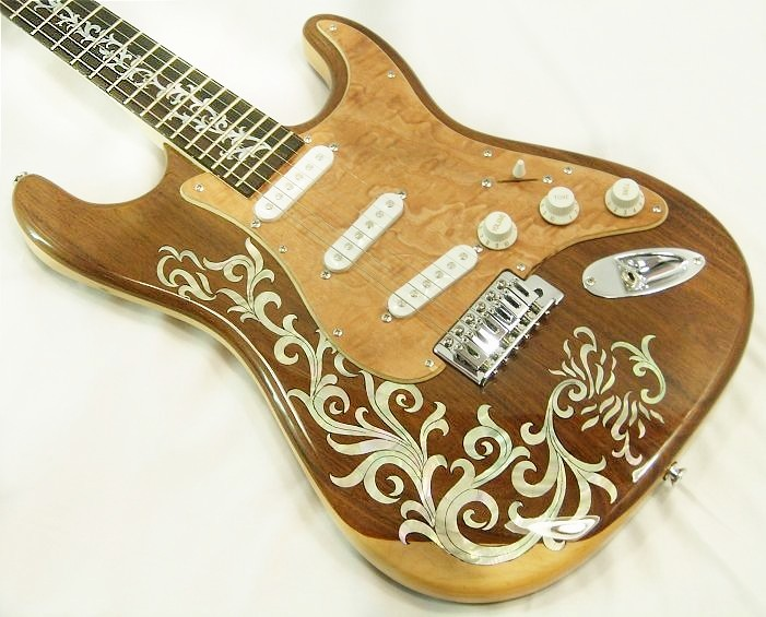 Handmade One-Of-A-Kind Guitar - ST15